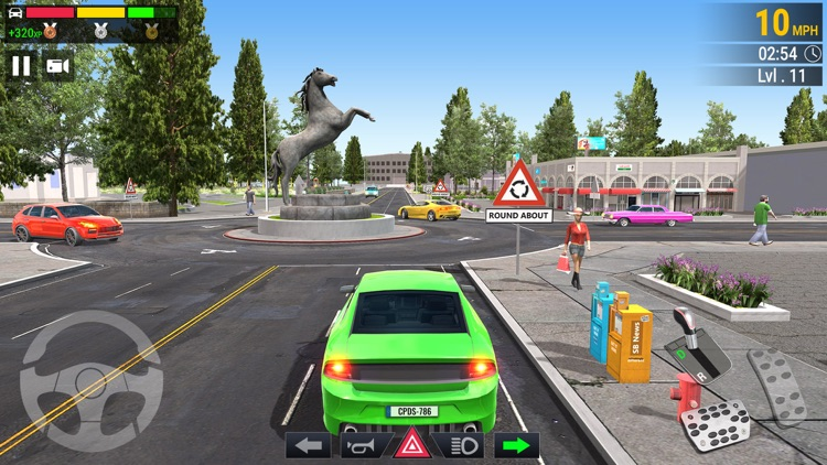 Car Parking - Driving School screenshot-9