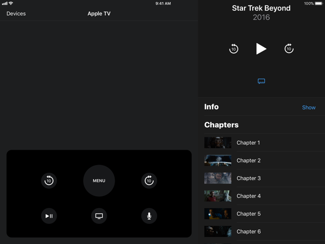 ‎Apple TV Remote Screenshot