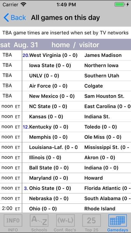 Gridiron 2019 College Football screenshot-3