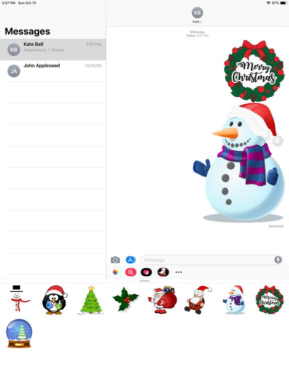 Screenshot #6 pour Christmas Sticker Bundle