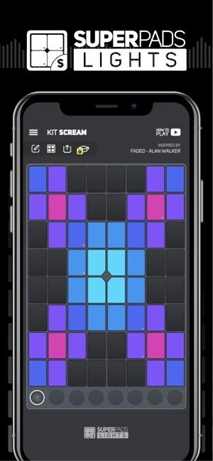 SUPER PADS LIGHTS - Be a DJ Screenshot