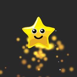 Rocket and stars
