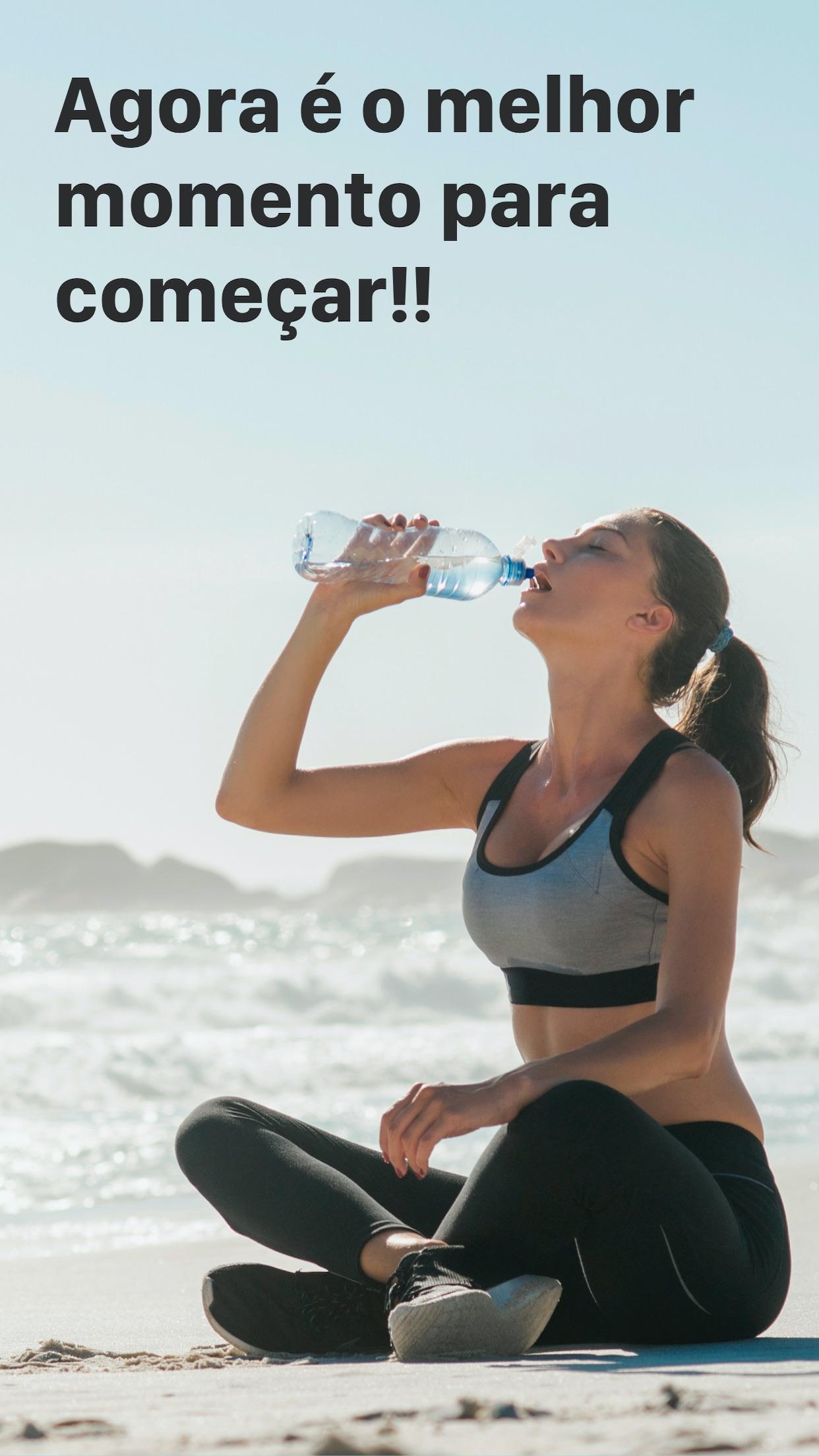 Screenshot do app Saldo de Água