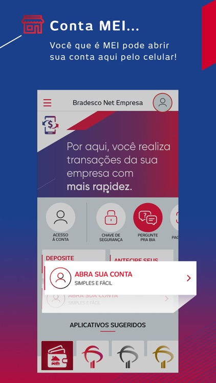 Bradesco Net Empresa screenshot-0