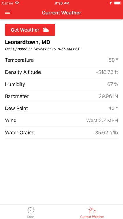 DragTuner Log Book & Weather screenshot-3