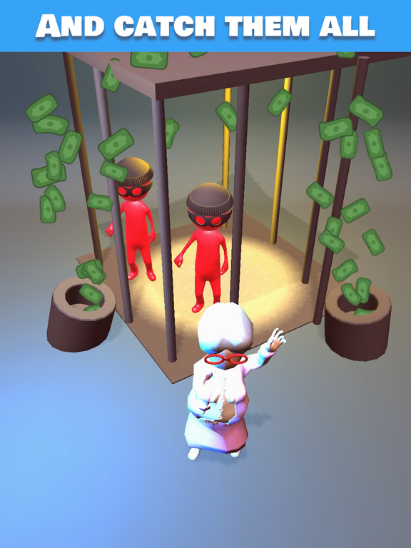 iPad Image of Catch the Thief 3D