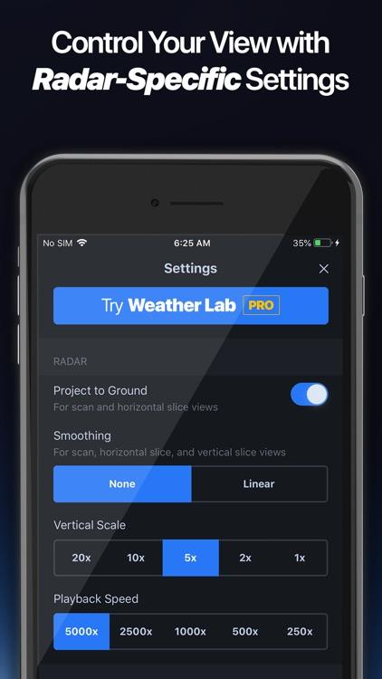 Weather Lab - 3D Radar screenshot-9