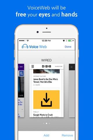 VoiceWeb by RunNGunSoft - náhled