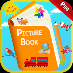 Kids Picture Dictionary Book