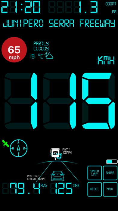 スピードメーターmphデジタルディスプレイのおすすめ画像5