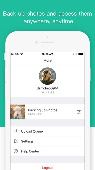 Synology Moments - App - iOS me