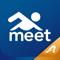 App Icon for Meet Mobile: Swim App in Denmark IOS App Store