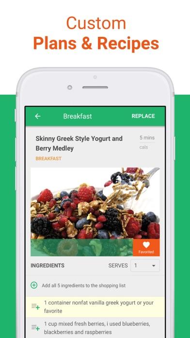 Vegetarian Meal Plan & Recipes Screenshot