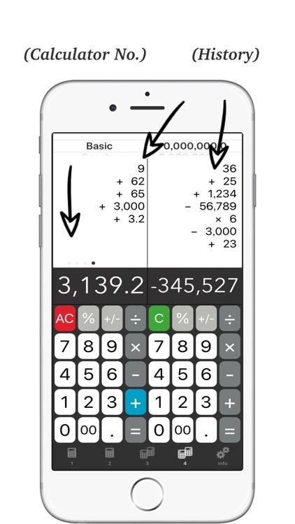 Calculator + - Twin Plus App # screenshot-4