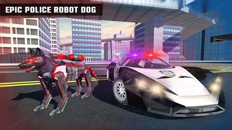 Police Robot Dog Chase screenshot-3