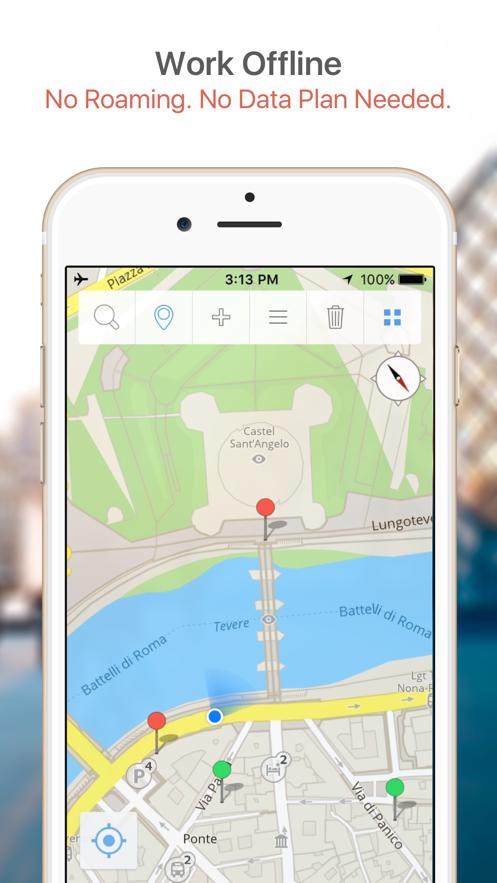Geneva Map & Walks (F) App 截图
