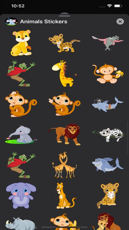 Animals Stickers & Emojis screenshot-5