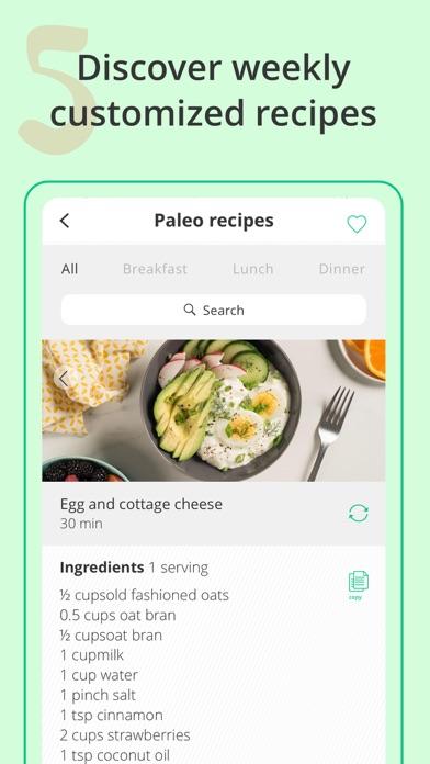 Meal Planner: mealplan recipes Screenshot