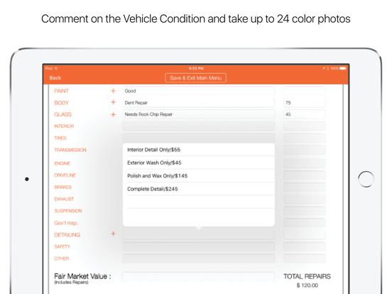 Auto Condition Report 360 Screenshots