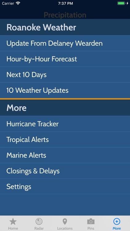 WSLS 10 Weather screenshot-3