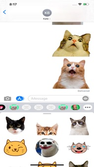 Best Cat Stickers WAStickerApp iphone images