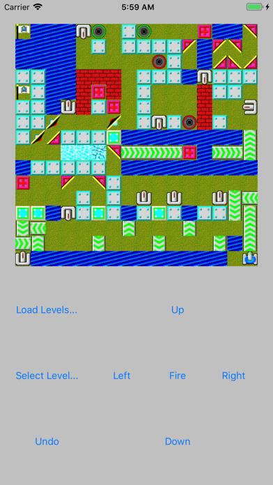 Screenshot from LaserTank Pro
