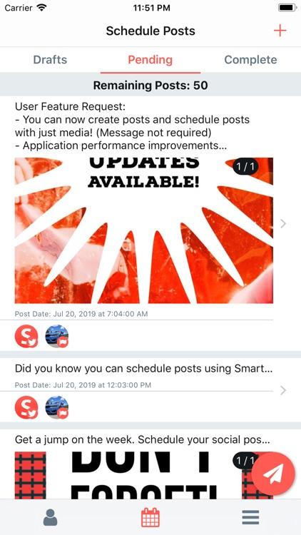Smart Post: Schedule Media screenshot-4