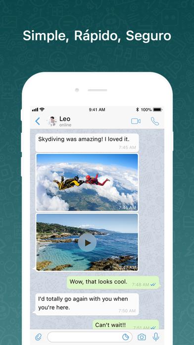 Screenshot for BOT videollamadas y mensajería in Chile App Store