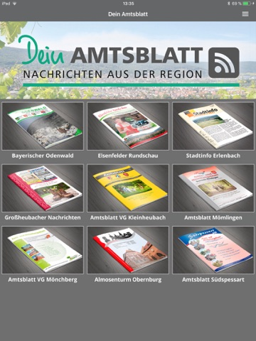 Dein Amtsblatt - náhled
