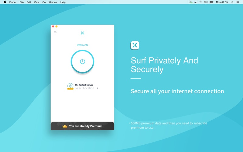 X-VPN Screenshot