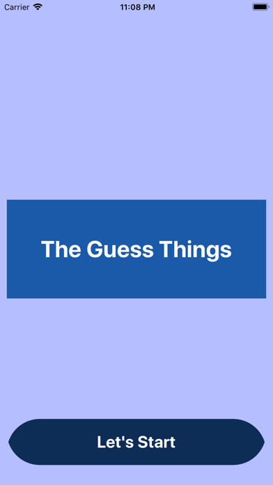 The Guess Things screenshot #1