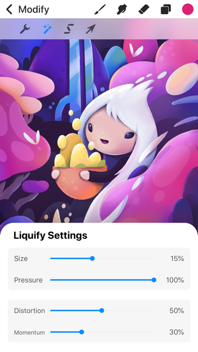 Screenshot for Procreate Pocket in South Africa App Store