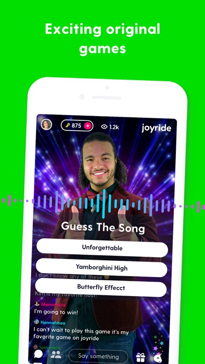 Joyride: play with friends