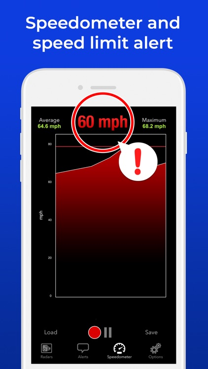 Radarbot Pro Speedcam Detector screenshot-4