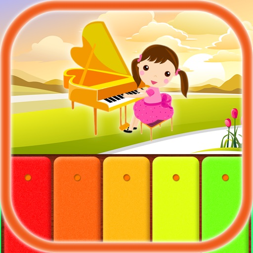 Kids Music: Piano, Xylophone iOS App