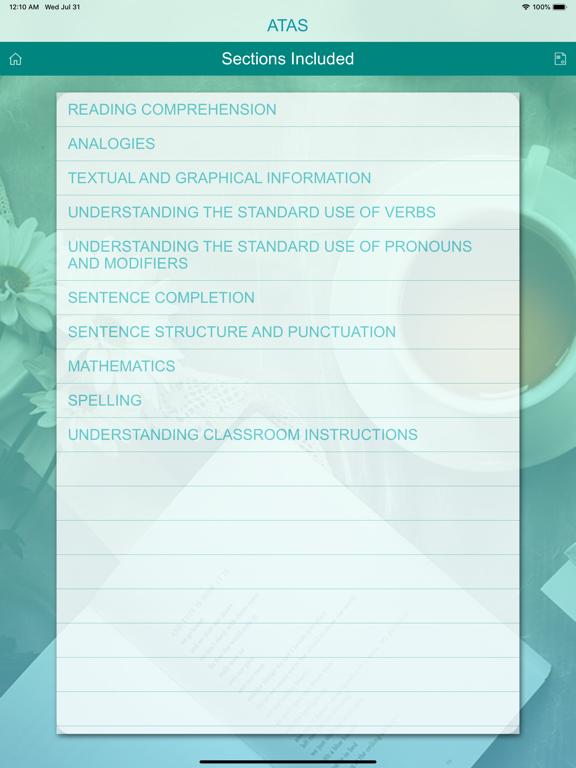 ATAS & NYSTCE  Practice Tests screenshot 16