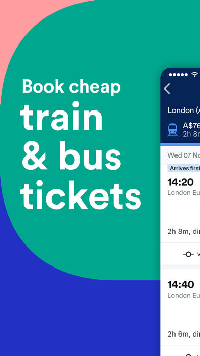 Download Trainline: Train & Bus Tickets for Pc