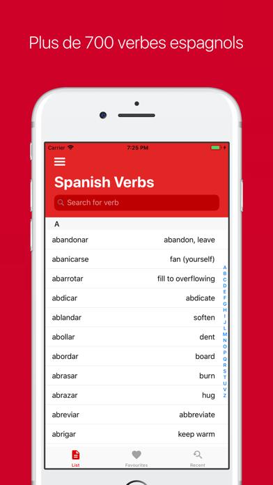 Verbes Espagnol (Plus)