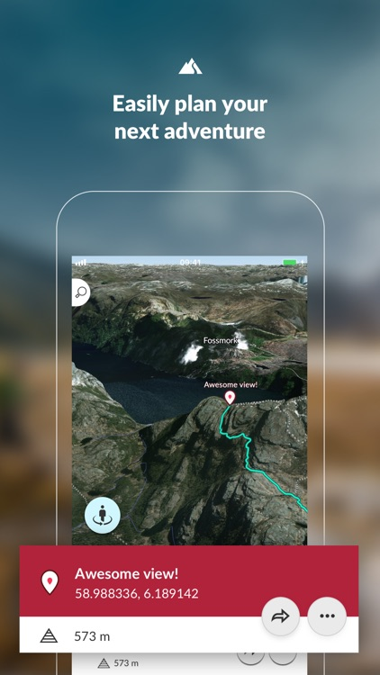 FATMAP: Ski, Bike & Hike Guide screenshot-0