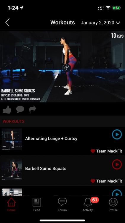 MackFit screenshot-5