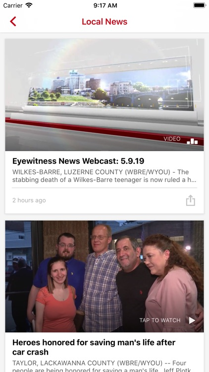 EYEWITNESS NEWS WBRE, WYOU