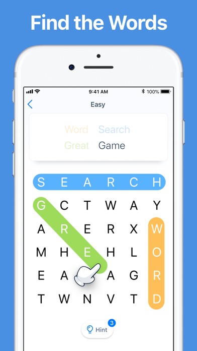 Word Search - Crossword Game screenshot 1
