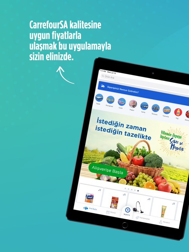 CarrefourSA Online Market on the App Store