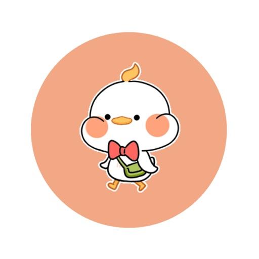 Interesting Duck Stickers