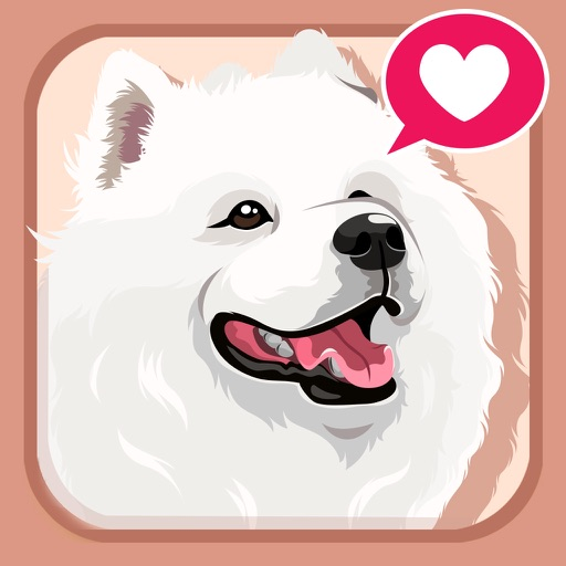 Samoyed Dog Emoji Sticker Pack