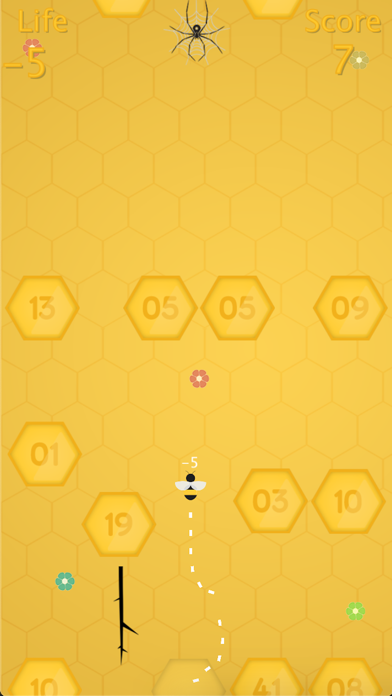 Honey Bee - Spider Puzzle Screenshot on iOS