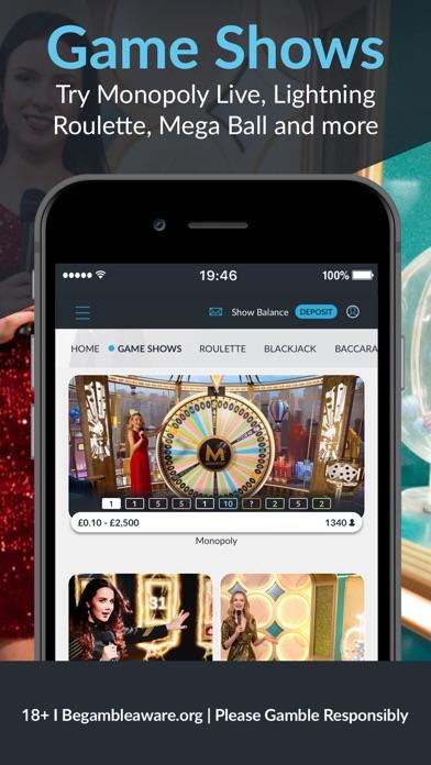 BetVictor: Online Casino Games screenshot four