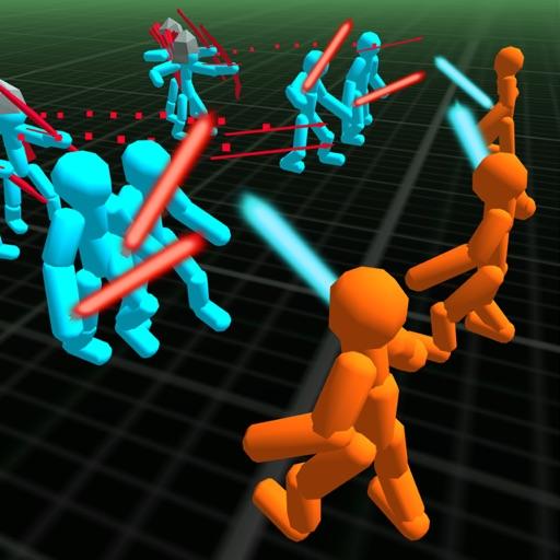 Stickman Neon Battle Simulator