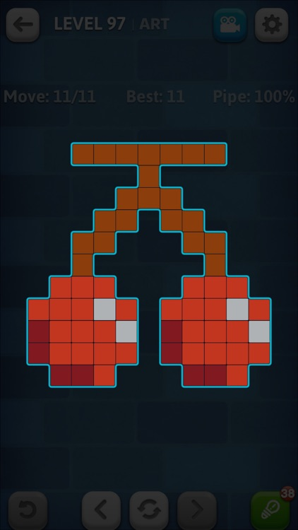 Line Puzzle: Pipe Art screenshot-4