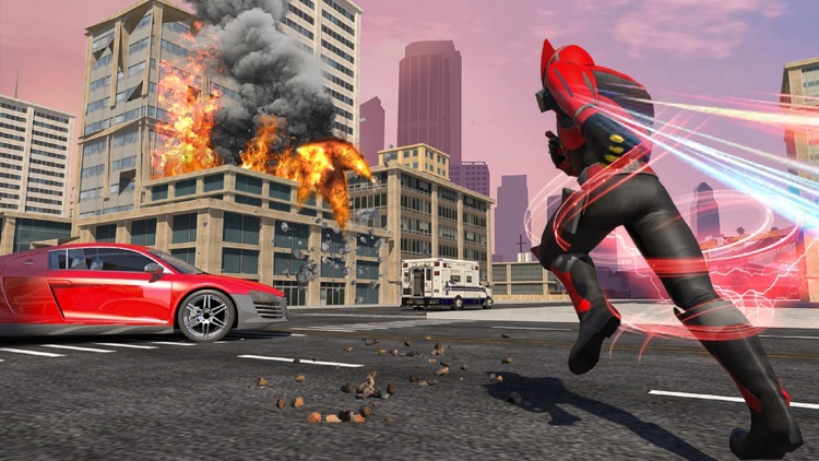 Police Robot War Hero Car Game